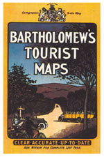 Bartholomew's Tourist Maps cover