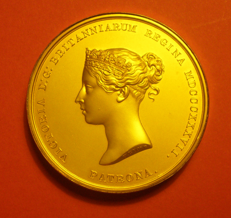 Victoria Gold Medal of the Royal Geographical Society, London - 1905