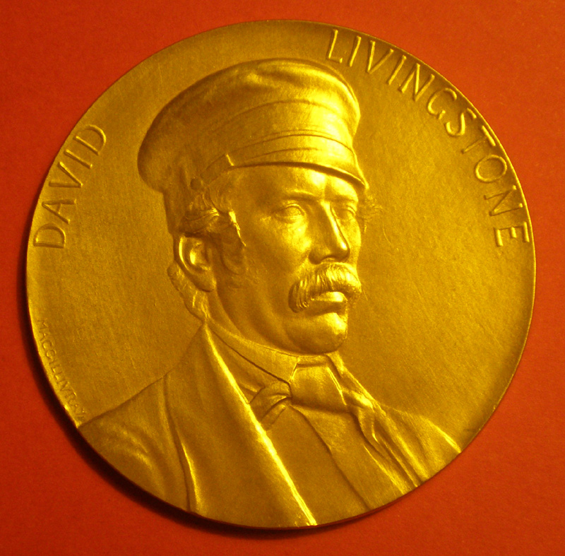 David Livingstone Medal - Royal Scottish Geographical Society
