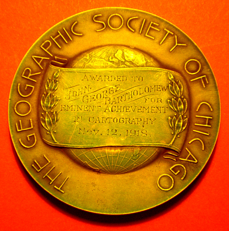 Helen Culver Medal of the Geographical Society of Chicago