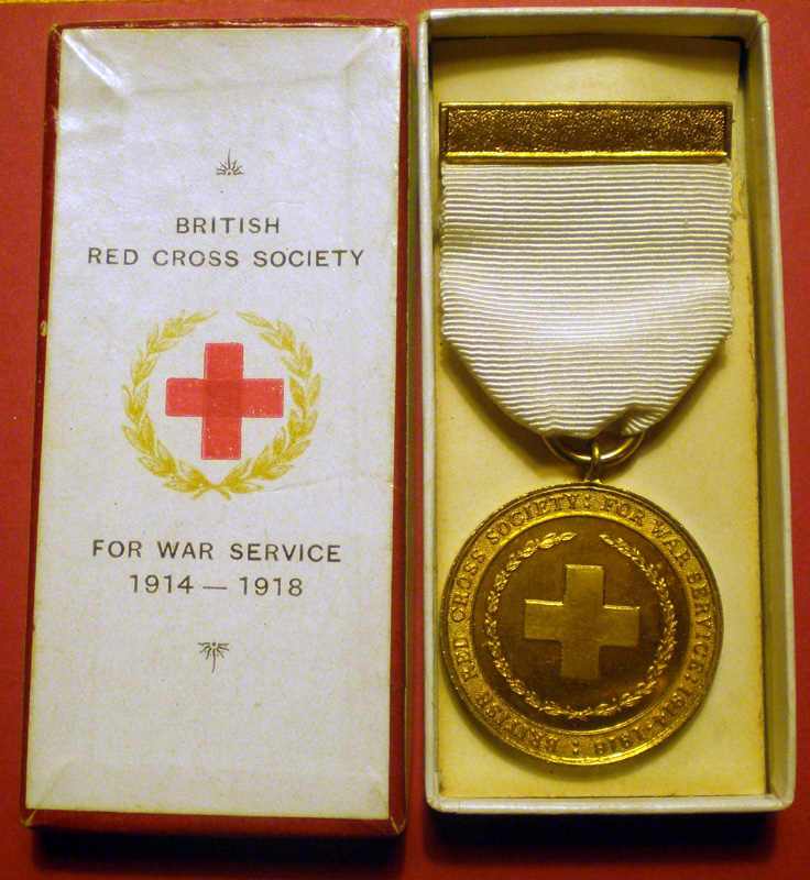 British Red Cross Society - 1914-18 Service Medal